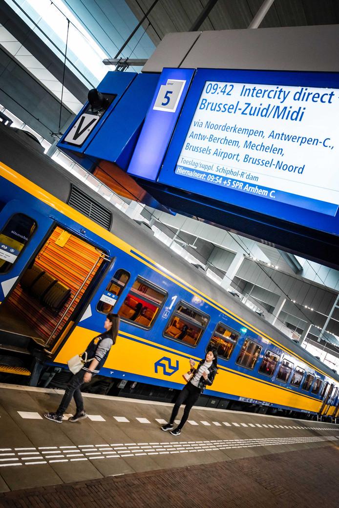 De Intercity van Breda naar Antwerpen rijdt sinds 9 maart van dit jaar.