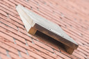 Een vleermuiskast bij een nieuwbouwwoning van Beveland Wonen.
