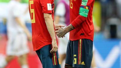"""Iniesta kondigt afscheid aan en ook Ramos twijfelt: """"Een van moeilijkste momenten in mijn carrière"""""""