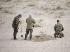 Toproeier Mark Slats vindt granaat in Wassenaar