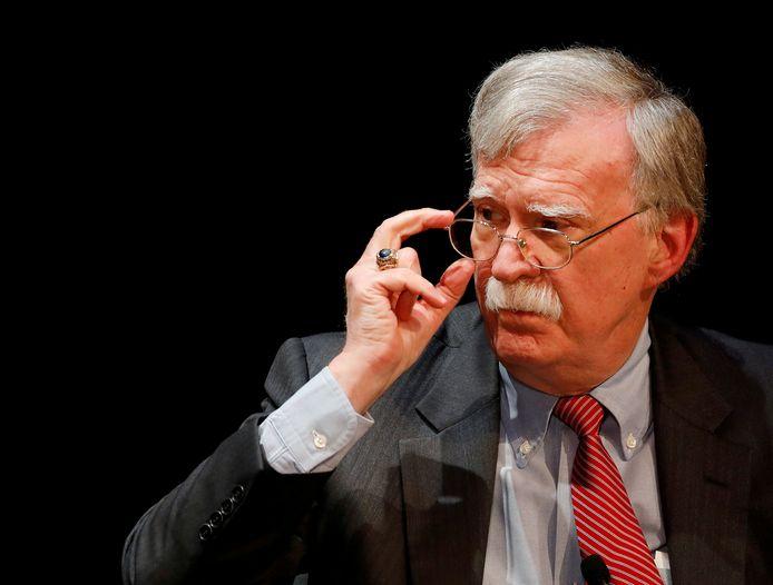 Voormalig veiligheidsadviseur John Bolton.