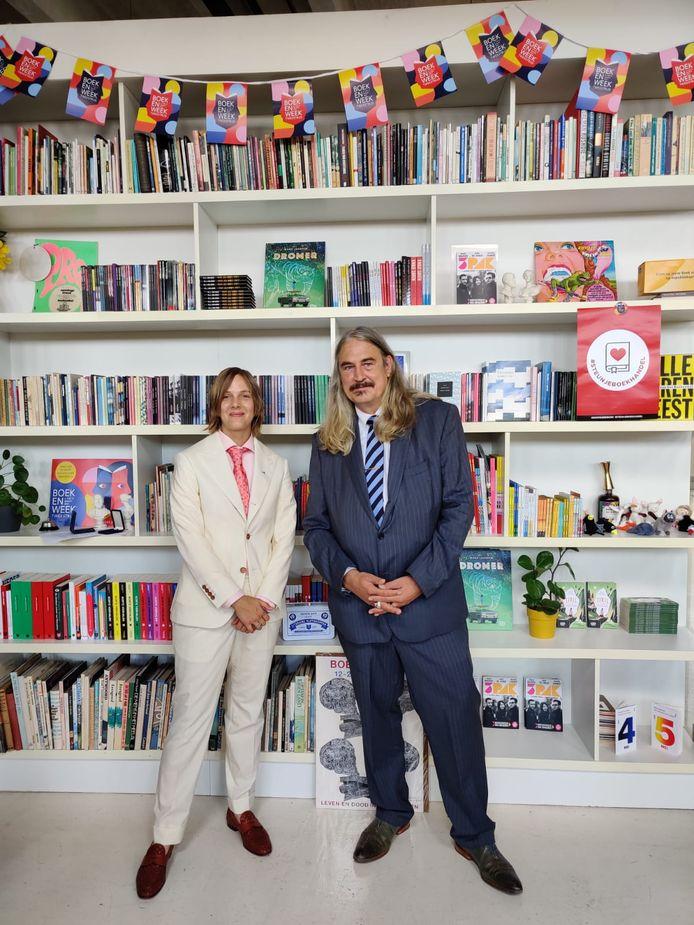 Marieke Lucas Rijneveld en Ilja Leonard Pfeijffer.