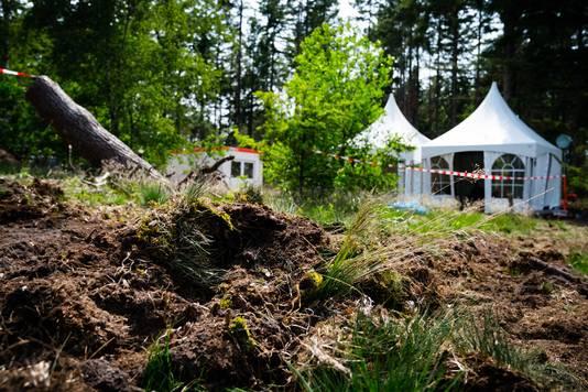 De hei werd volgens de politie vaker genoemd als plaats waar Tanja Groen begraven zou zijn.