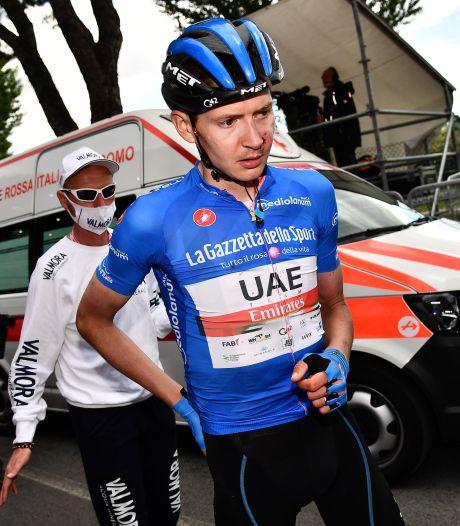 Ritwinnaar en bergkoning Dombrowski verlaat de Giro