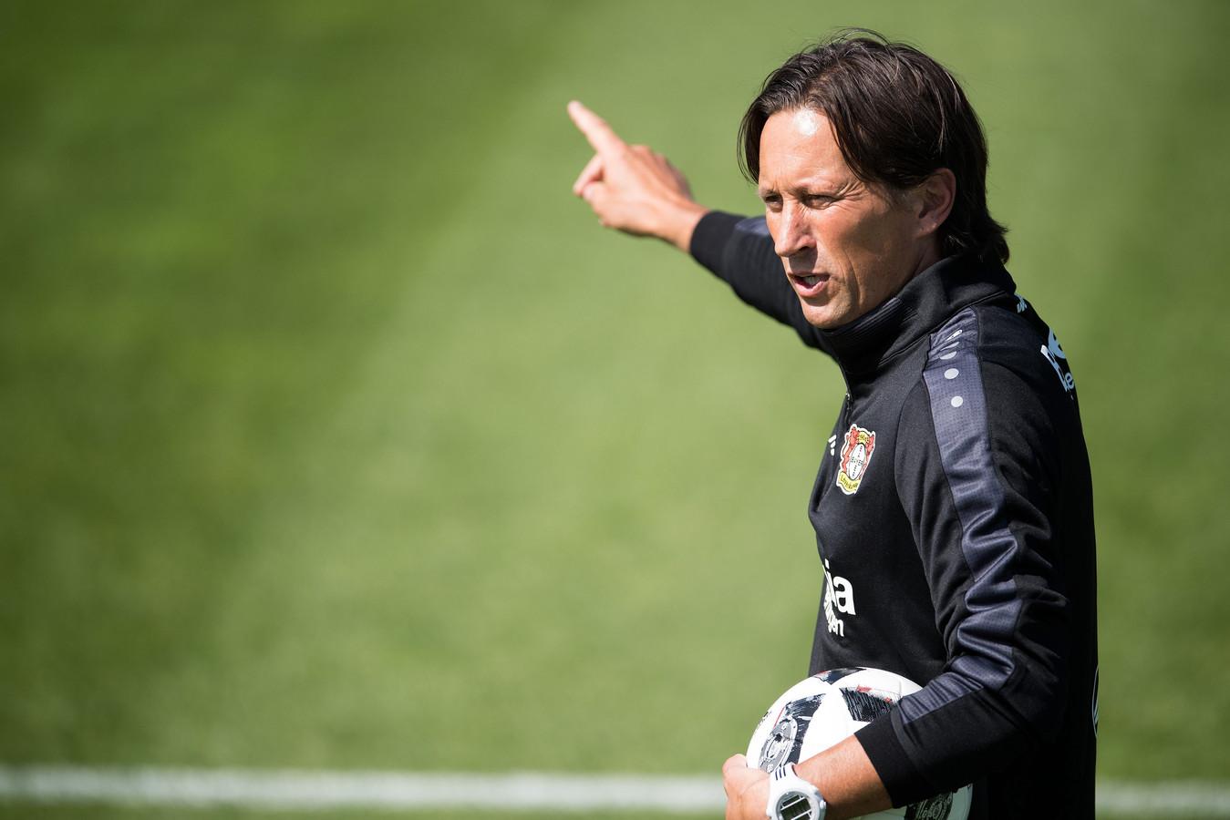 Als trainer van Bayer Leverkusen ging Roger Schmidt al met zijn ploeg naar Marienfeld, om zich daar op het nieuwe seizoen voor te bereiden.