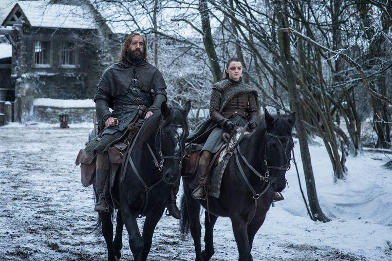 Een beeld uit het achtste seizoen van 'Game of Thrones'. Beeld Photo News