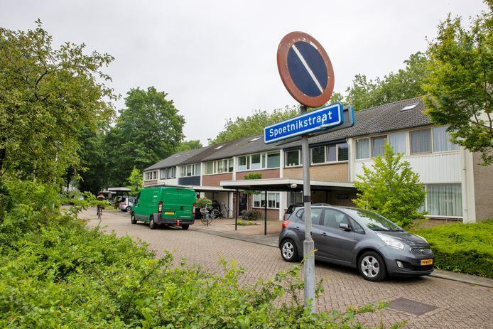 De Spoetnikstraat  in Helmond-Noord.
