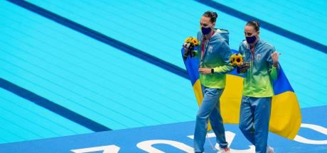 L'organisation s'excuse pour une gaffe lors de la cérémonie de remise des médailles de natation synchronisée