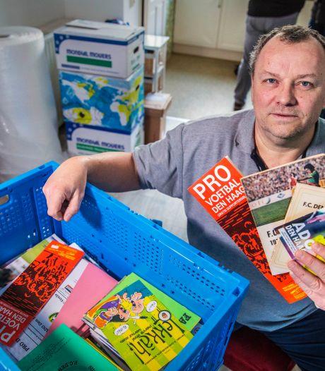 Geliefde programmaboekjes ADO verzwolgen door brand Shurgard: 'Ajax-verzamelaars bieden hulp aan'