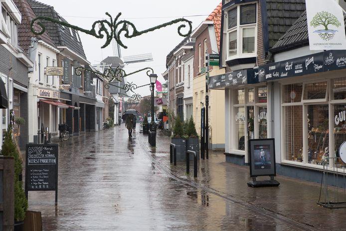 De Langstraat in Wijhe.