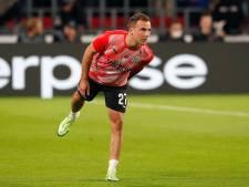 Mario Götze moet even passen bij PSV, Sangaré, Mwene en Delanghe wel snel terug