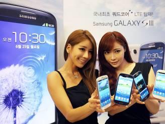 Samsung Galaxy SIII populairste smartphone