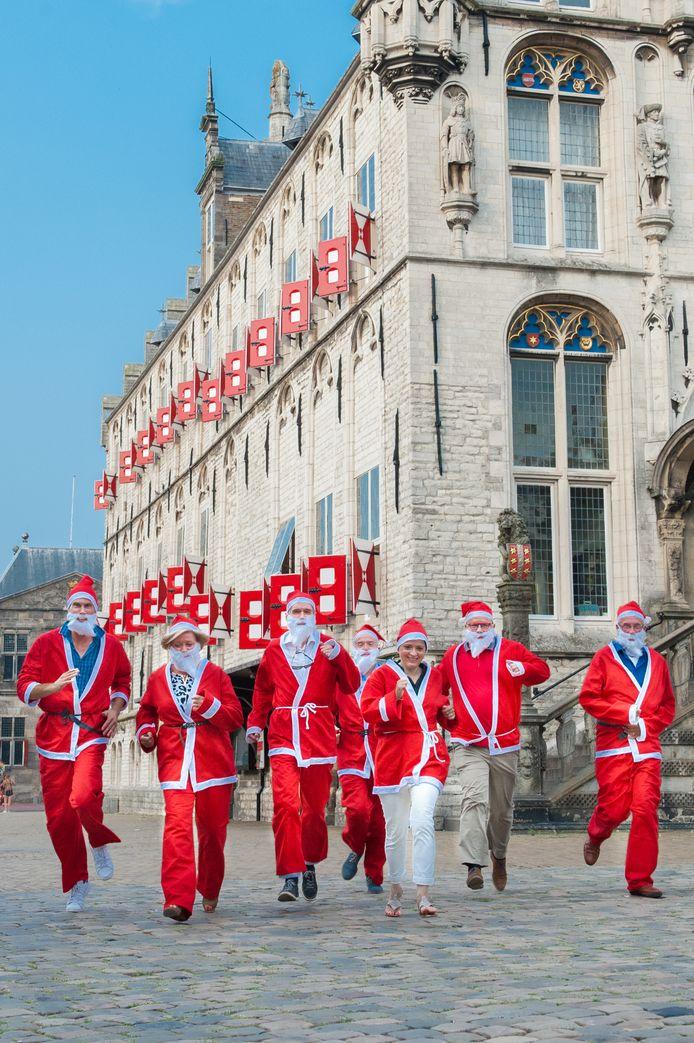 20 december 2019 is de eerste Goudse Santa Run.