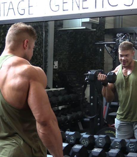 Bodybuilder Wesley doet mee aan Amerikaanse wedstrijd: 'Nooit gedacht dat ik dit zou kunnen'