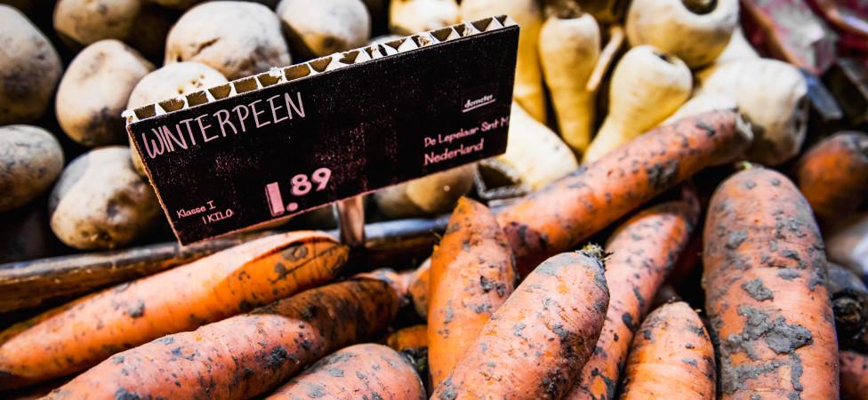 Biologisch eten wordt steeds goedkoper en gangbaarder