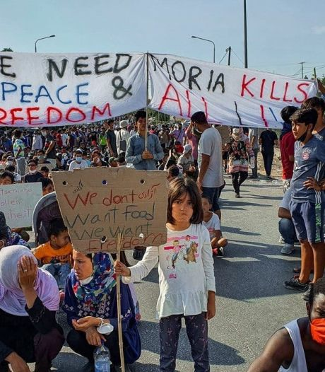 Noodkreet vanaf Lesbos: 'Mijn hart is verbrijzeld'