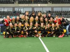 'Gigantische euforie' in Siberische omstandigheden bij hockeysters Den Bosch, die de beste van Europa zijn