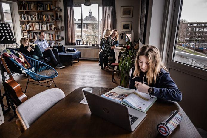 Kun je je thuis lastig concentreren op je schoolwerk? Dan kun je bij Anouscha Visser in Klaaswaal terecht.