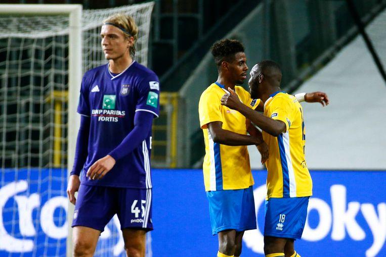 Sebastiaan Bornauw droop vorig jaar vroegtijdig af met Anderlecht. Union won met 0-3.