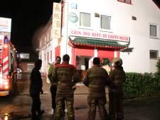 Korte felle brand in Chinees restaurant in Leersum