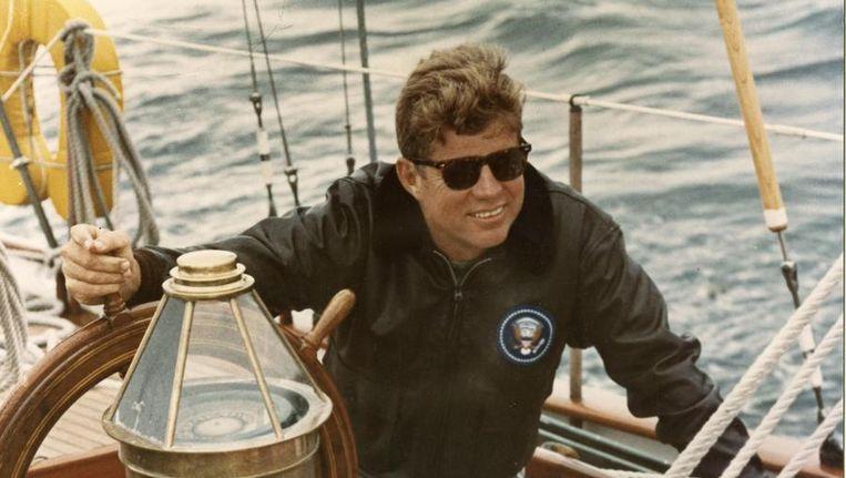 John F. Kennedy. Beeld reuters