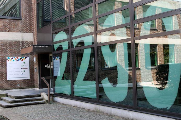 Het gemeentehuis van Vorselaar.