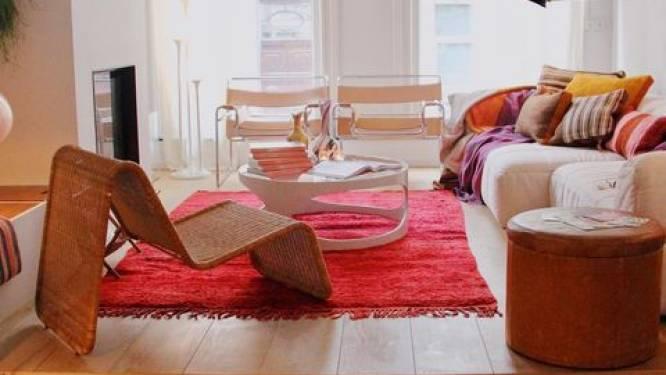 """Hoe kies je het perfecte tapijt? Interieurfanaat Paulette geeft praktische tips: """"Je moet durven. Een fel tapijt geeft je kamer een frisse boost"""""""