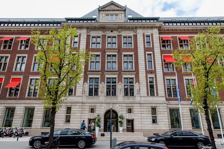 Het gebouw waar ook het Sociaal Cultureel Planbureau is gevestigd. Beeld ANP