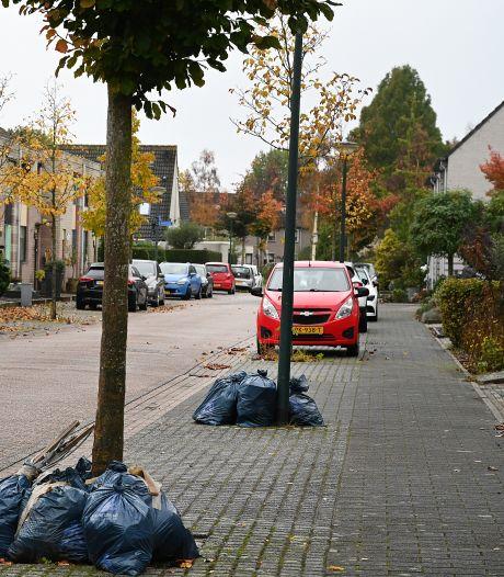 Afval blijft op straat liggen in Land van Cuijk; wat is er aan de hand?