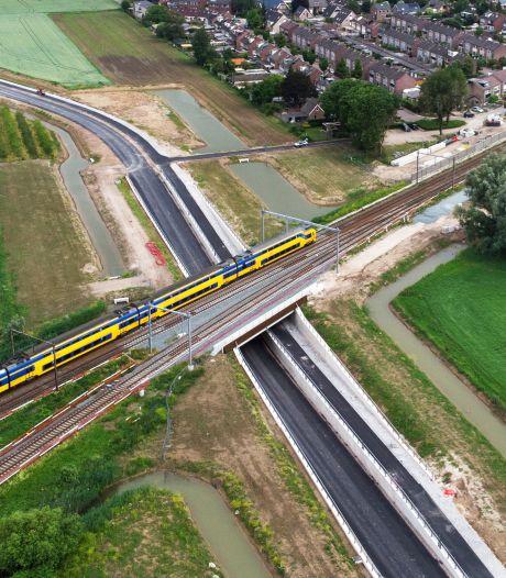 Aanleg derde spoor door Tricht bijna klaar; verbetering voor MerwedeLingeLijn