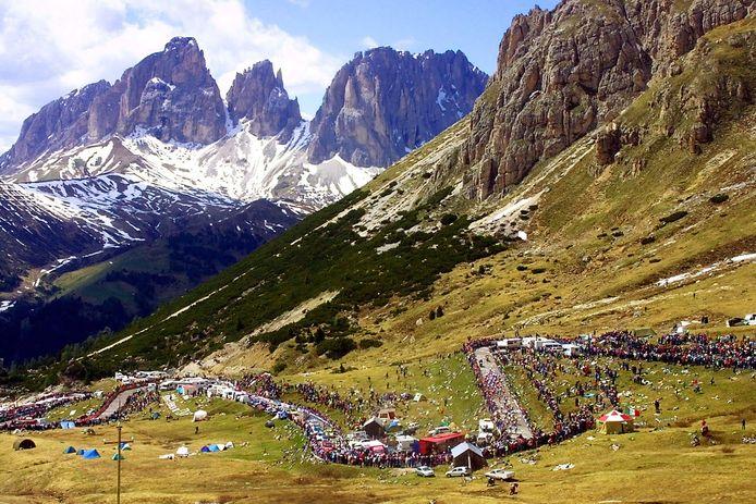 We klimmen vandaag in de Dolomieten naar meer dan 2.000 meter boven zeeniveau in de Giro.