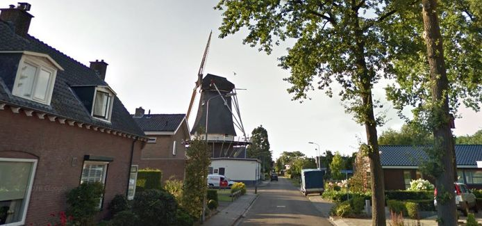 Een deel van de Molenweg in Klarenbeek.