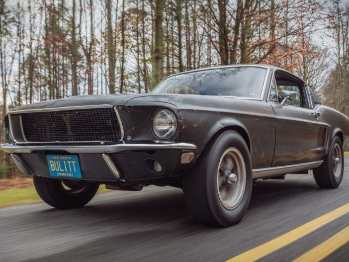 De originele Ford Mustang Bullitt.