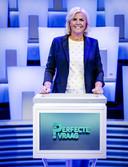 2017-08-22 16:50:28 BAARN - Irene Moors tijdens de persdag over haar nieuwe programma De perfecte vraag. ANP KIPPA ROBIN VAN LONKHUIJSEN