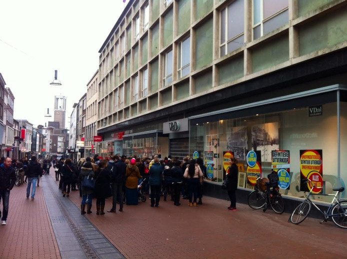 Het pand op de Markt in Nijmegen.
