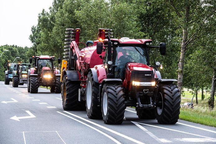 Transporteurs vrezen dat boeren woensdag wegen blokkeren.