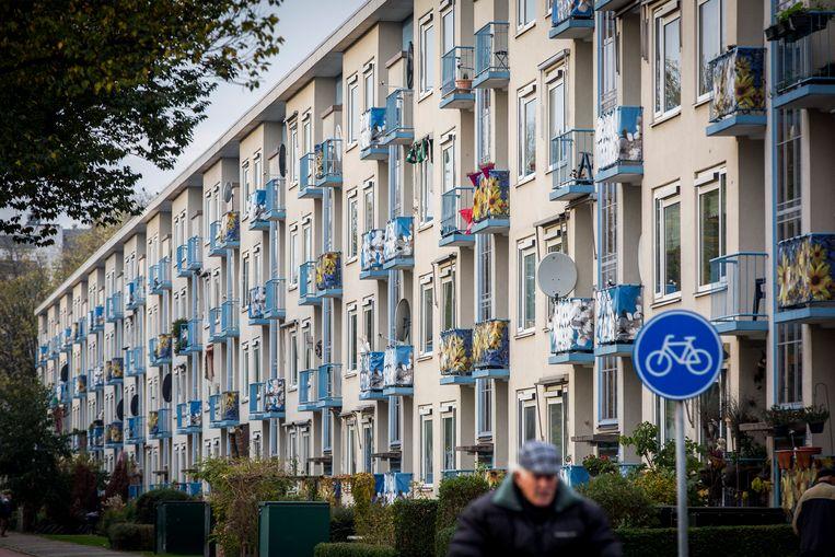 De Haagse wijk Moerwijk. Beeld ANP