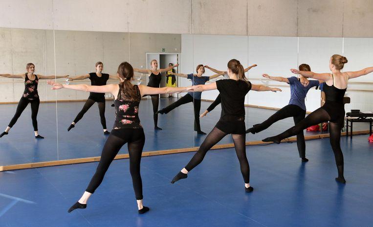 De nieuwe balletzaal.