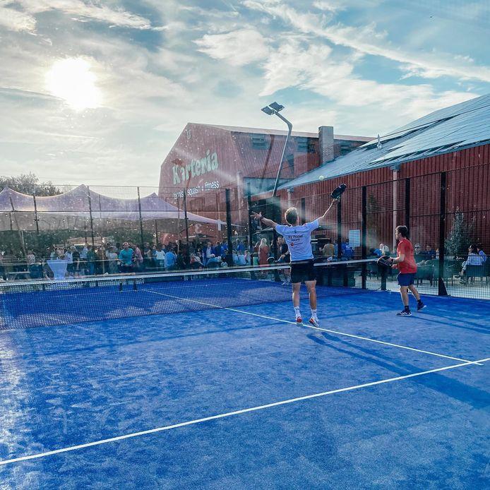 Zaterdag 18 september werd de Dojang van Taekwondoschool Keumgang en de padelterreinen in Karteria Diest officieel geopend.