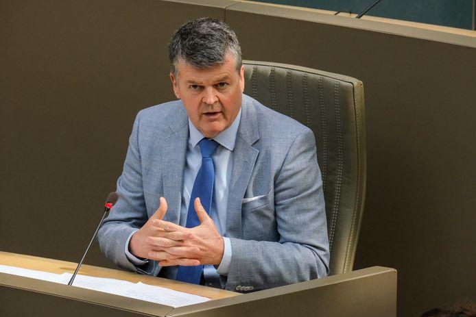 Bart Somers (Open Vld), Vlaams minister van Binnenlands Bestuur.