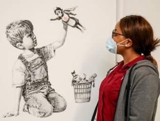Recordbedrag van bijna 20 miljoen voor werk Banksy, opbrengst gaat naar de zorg