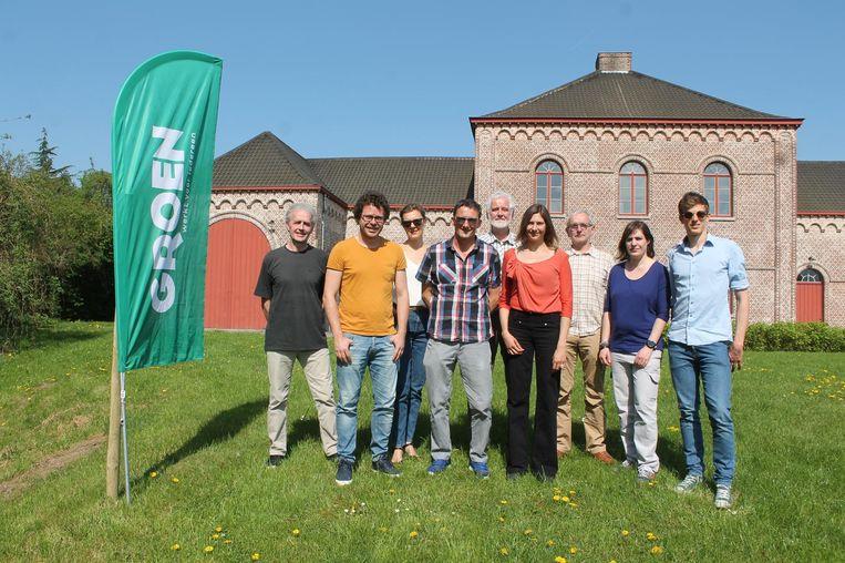 Groen stelt haar ploeg voor, met Koen Van Cauter, Alwin Loeckx, Marc Devits en Hendrik Schoukens.