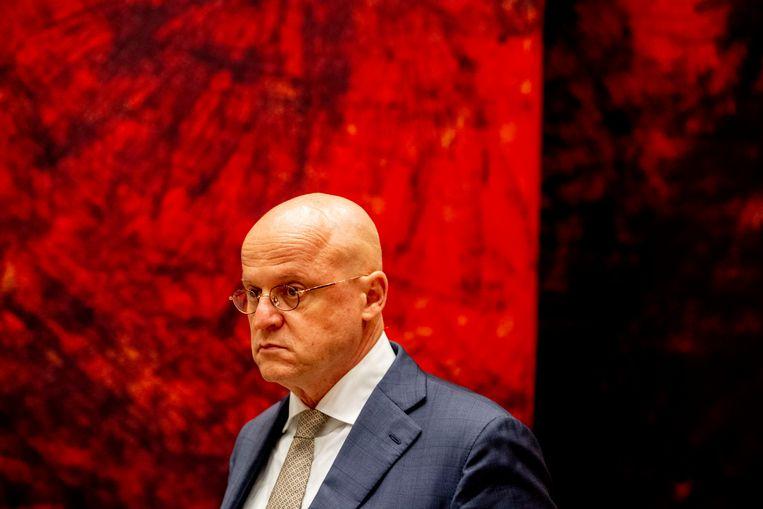 In een interview met Politico bleek minister Grapperhaus toch weer voor het verzwakken van encryptie te pleiten. Beeld ANP
