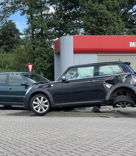 Automobiliste gewond bij ongeluk op de Europaweg in Lichtenvoorde