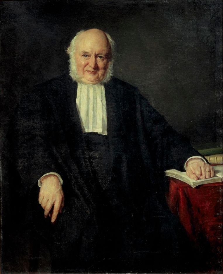 Portret van Nicolaas Beets door Thérèse Schwartze. Beeld Centraal Museum Utrecht/Ernst Moritz