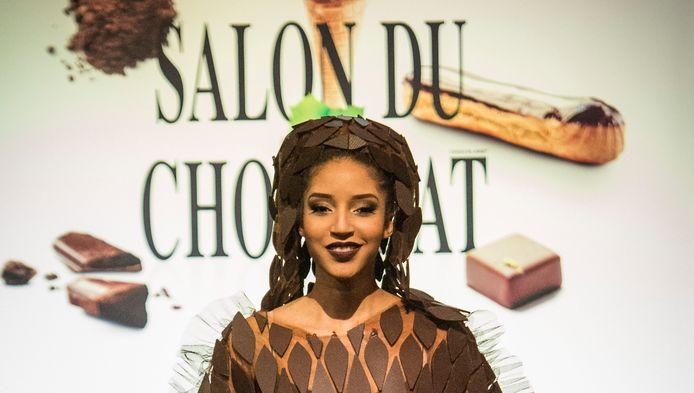 Gala d'ouverture du Salon du Chocolat en 2014.