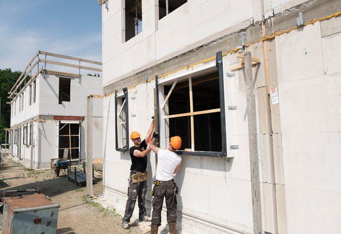 De nieuwbouwwijk Rittenburg in Middelburg is een doorslaand succes. Mede door de krapte op de woningmarkt was de belangstelling enorm.