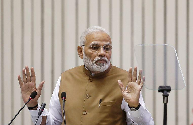 Minister-president Narendra Modi