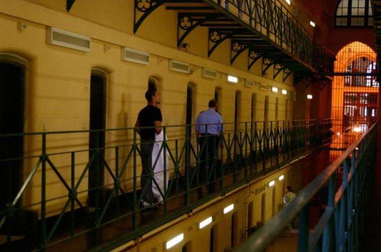 De gevangenis van Bergen. Beeld HLN