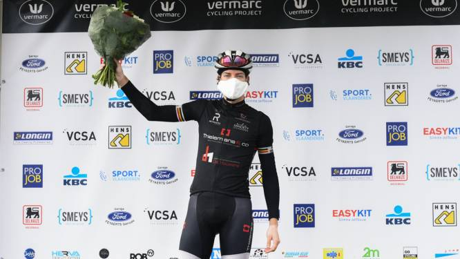"Rutger Wouters wint spurtklassement in GP Vermarc: ""Verrast dat ik dit kan"""
